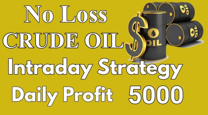 No loss Intraday crude oil trading strategies||crude oil